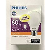 Phillips 60w / 7w LED Soft white