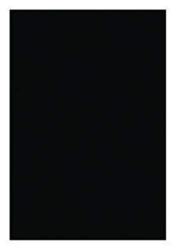 Crescent Colored Mat Board, 20 x 32 Inches, Smooth Black 921A, Pack of 10 - 405225 by Crescent