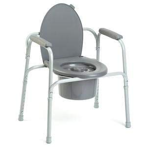 Invacare All-In-One Aluminum Commode by Invacare