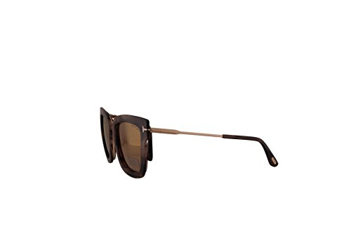 c551612f50 Sunglasses Tom Ford FT0573 Lara-02 Sunglasses Havana w Brown Mirror ...