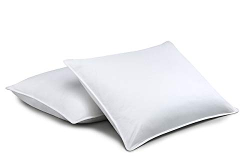 Standard Textile Chamberloft Down Pillow, Set of 2, King (20x36 inches) (Standard Textile)