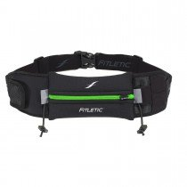 Fitletic 5k Running Belt - Black & Green