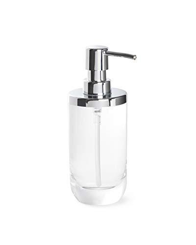 Umbra Junip Hand Soap Dispenser-Modern Refillable Pump for Bathroom, Clear