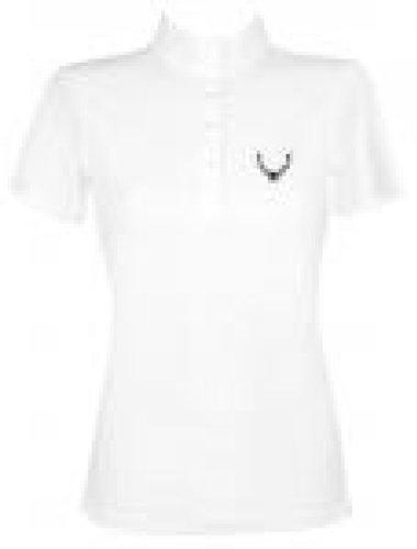 PFIFF Damen Turniershirt ´Ellen´, Weiß, White, 38