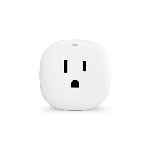 Samsung SmartThings Outlet [GP-U999SJVLDAA] Smart Plug – Alexa Compatible – ZigBee – White