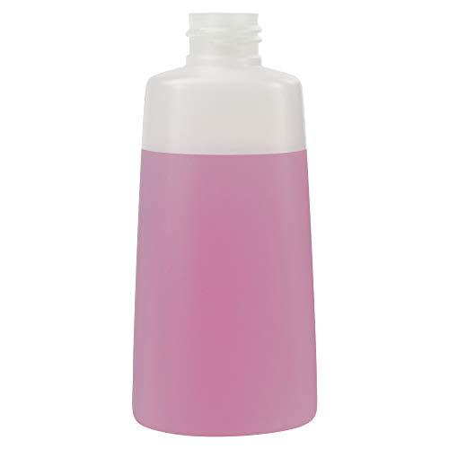 150 mL Natural Lisbon Oblong High Density Plastic Bottle with 24 mm x 410 Thread Count (48 Bottles) (Caps Sold Separately)