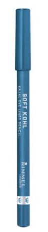 Soft Kohl Pencil - Rimmel London Soft Kohl Kajal Eye Liner Pencil Denim Blue