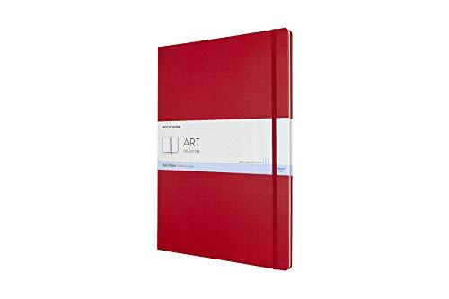 Moleskine Art Sketchbook, A3, Scarlet Red, Hard Cover  (11.75 x 16.5)
