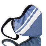 Vogmask Classic Microfiber High-Filtration Dust Mask: Blue Grey Stripe