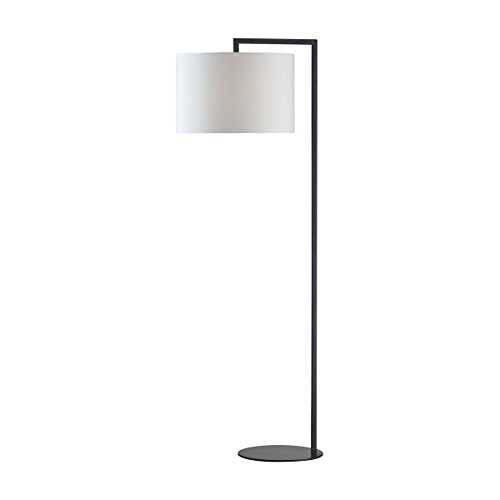 - Dimond D2729 Bronze Stem Floor Lamp, 1-Light 100 Watts, Matte Black