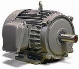 Teco NP0054, 5 HP, 1800 RPM, TEFC, 184T Frame, 208-230/460 Volt, 3 PH, Max-Pe, Footed Frame AC Electric Induction Motor