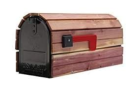 (Cedar-Wrapped Mailboxes)