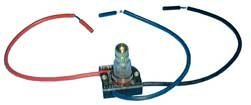 Rotary Canopy Switch w/ Stripped Wire Leads - 2 Circuit / 3-Way : 30-9160 (Rotary Canopy)