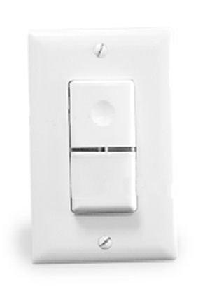 1- Wattstopper WA-200-W Passive Infrared Automatic Wall Switch Occupancy Sensor; White … Watt Stopper