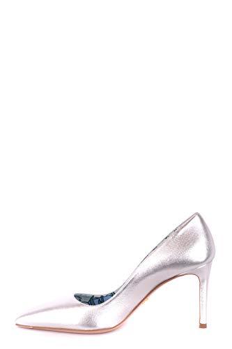 Zapatos Mujer Prada Plata Cuero Mcbi244088o Altos nvxTBa