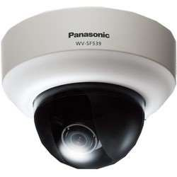 Panasonic i-PRO SmartHD WV-SF539 Network Camera - Color, Monochrome - 3.6x Optical - MOS - Cable - Fast Ethernet