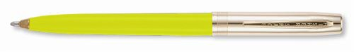 Fisher Cap O Matic Yellow Barrel Ballpoint