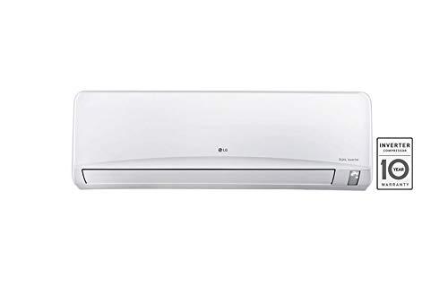 LG 1.5 Ton 3 Star Inverter Split AC (Copper, JSUQ18NUXA2, White)