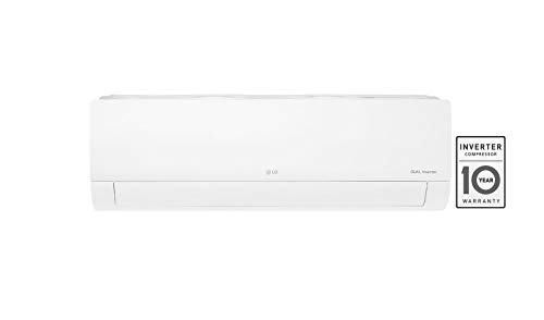 LG 1.0 Ton 5 Star Inverter Split AC (Copper, JS-Q12HUZD, White)
