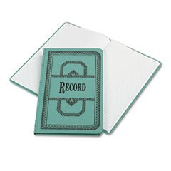 (Wholesale CASE of 10 - Esselte 66 Series Canvas Record Books-Account Book, Record-Ruled, 150 Pages, 12-1/8