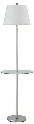 - Cal Lighting BO-2077GT-BS One Light Floor Lamp