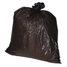 Genuine Joe : Heavy-Duty Trash Bags, 1.5 Mil, 40-45 Gallon, 50/BX, Black -:- Sold as 2 Packs of - 50 - / - Total of 100 Each