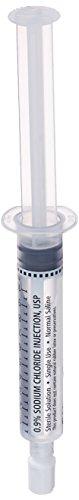 Flush Syringes (BD Medical Systems 306547 Normal Saline Filled Flush Syringe, Pump Compatible, Sterile, 10 ml Fill in 10 ml Diameter (Pack of 30))
