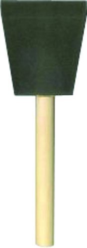 """Jen 2"""" Poly Foam Brush With Wood Handle, Pack of 24"""