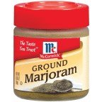 McCormick Ground Marjoram .65OZ (Pack of 18)