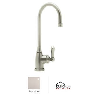 Bar Faucet Single Handle by Rohl - U4700 in Satin Nickel