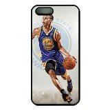 iPhone 5S Case, Best iPhone 5 Case, Steph Curry Personality Hard PC Black Scratch Protection Case Cover Slim fit for Apple iPhone 5 5S (Lens Case Coach Contact)