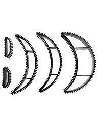 Big Bumpits Happie Hair Volumizing Inserts Hair Pump Beauty Set Tool Gift Black 5Pcs