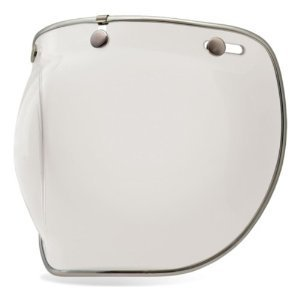Bell Unisex Adult 3-Snap Clear Bubble Shield Deluxe 7018137