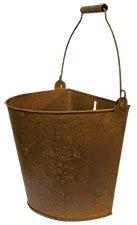 Large Rusty Wall Bucket (Rusty Bucket)