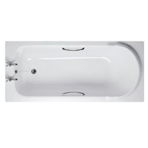 Ideal Standard E4016AA Chrome Ascot Bath Grips Shower And