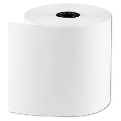 "NCCO Register Rolls - POS Kitchen Paper - 1 Ply White Bond - 3"" x 165"
