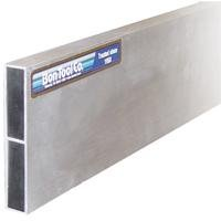 Bon 22-512 1-1/2-Inch by 3-1/2-Inch by 12-Foot Reinforced Aluminum H-Screed with Plastic Cap