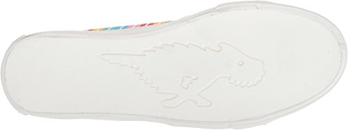 Rakethond Dames Clarita Stone Wash Katoenen Sneaker Kauwgom Cardio-klasse