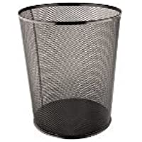 Notton Ofis Tipi Fileli Metal Çöp Kovası NT 6013