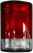TYC 11-5008-01 Ford Driver Side Replacement Tail Light Assembly (97 Tail Light Lamp Wagon)