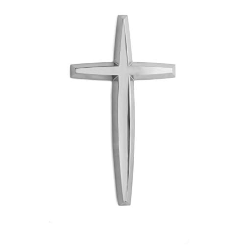 Nambe Holiday Wall Cross - Metal Nickel Cross