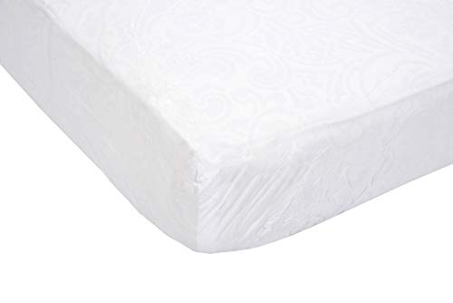 Essential Medical Supply Contour Vinyl Mattress Protector Hospital Beds, 36X80 Inch