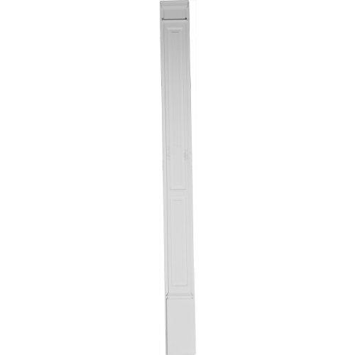 Column Raised Panel (Ekena Millwork PIL08X96X02DP 8-Inch W x 96-Inch H x 2 3/4-Inch P Double Raised Panel Trimmable)