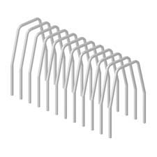 HON Company : Dividers, For Shelf Files, 12/PK, Gray -:- Sold as 2 Packs of - 12 - / - Total of 24 Each by HON
