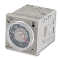 (Analog Timer, Multifunction, H3CR-A Series, On-Delay, 14 Ranges, 0.05 s, 300 h, 1 Changeover Relay)