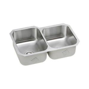 Elkay SPUH3120R Signature Plus Undermount Double Bowl Kitchen Sink Stainless