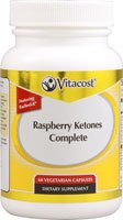 Cheap Vitacost Raspberry Ketones Complete (250 mg) Featuring Razberi-K with Green Coffee Bean and Green Tea — 60 Vegetarian Capsules