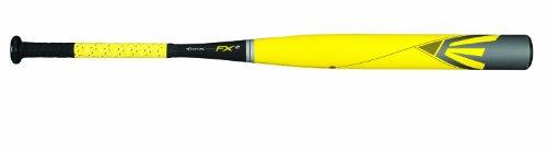 Easton FP14X2 FX2 Composite Fastpitch Softball Bat, Yellow/Grey/Black, 33-Inch/24-Ounce