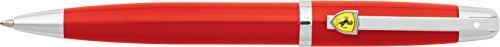 Sheaffer Ferrari 500 Series, Rosso Corsa, Chrome Plate Trim, Ballpoint - Online Ferrari Store