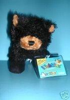 Webkinz Lil' Kinz Black Bear Plush (Cute Names To Name A Teddy Bear)